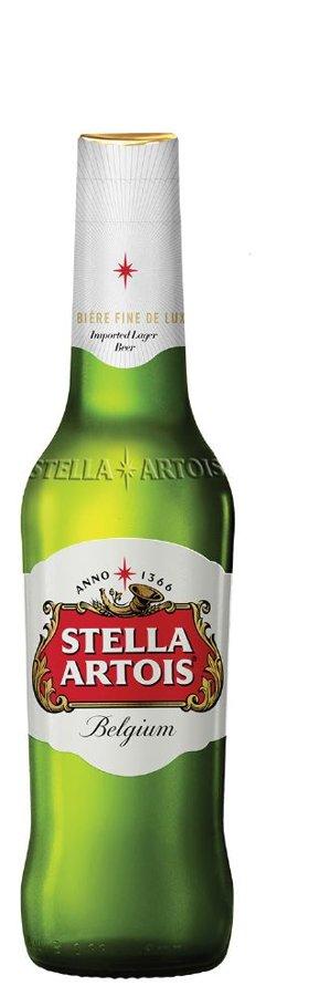 Stella Artois Beļģu alus 5% 0.33l, iepak. 24 gab