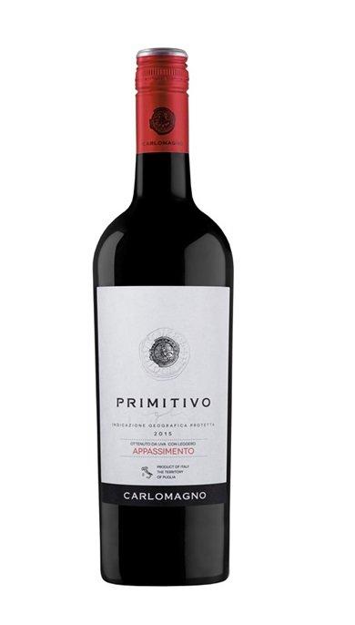 Carlomagno Primitivo Appassimento 14% 0.75l