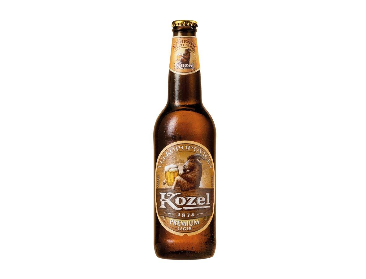 Kozel Premium Čehu 4.4% 0.5l, iepak. 20 gab
