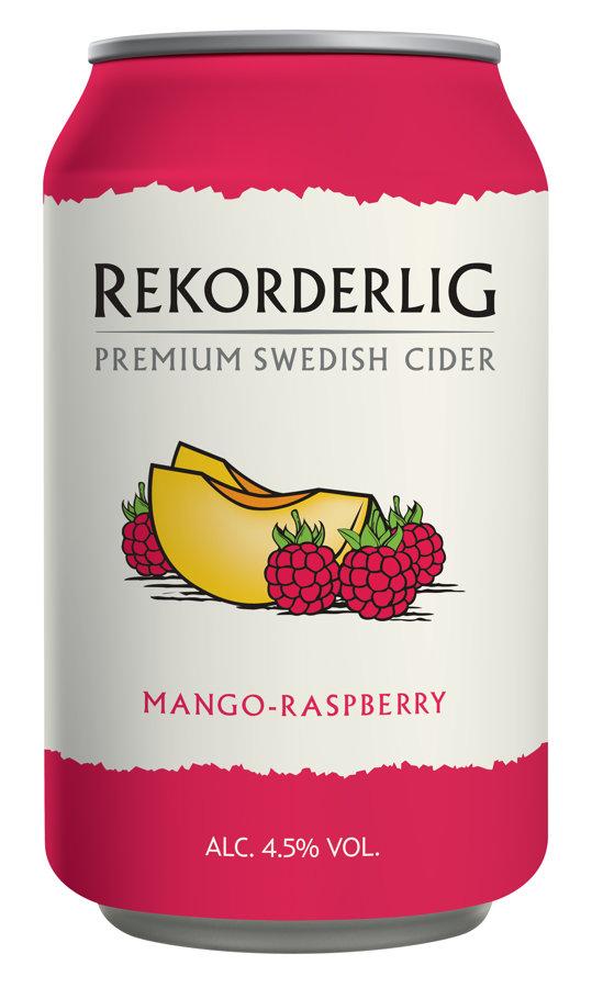 Rekorderlig Mango Raspberry 4.5% 0.33l, iepak. 24 gab