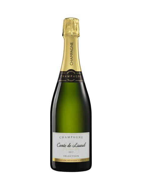 Šampanietis Champagne Comte de Lisseuil Brut Selection 0.75l, iepak. 6 gab