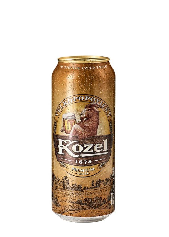 Kozel Premium Čehu alus 4.4% 0.5l, iepak. 24 gab