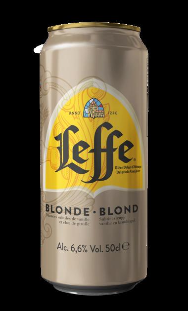 Leffe Blonde 6.6% 0.5l, iepak. 24 gab