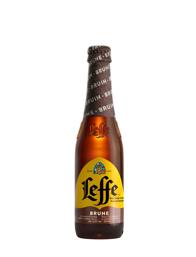 Leffe Brune Beļģu alus 6.5% 0.33l, iepak. 24 gab