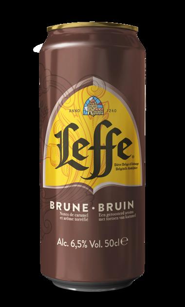 Leffe Brune 6.5% 0.5l, iepak. 24 gab