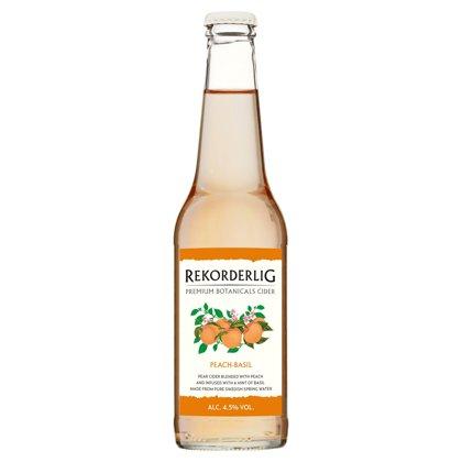 Rekorderlig Peach Basil 4.5% 0.33l, iepak. 12 gab