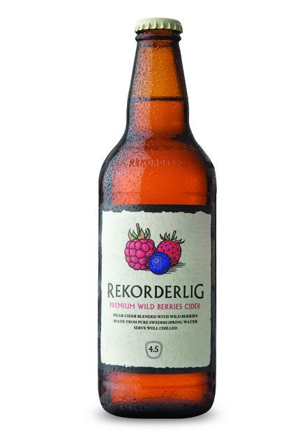 Rekorderlig Wildberries 4.5% 0.5l, iepak. 15 gab