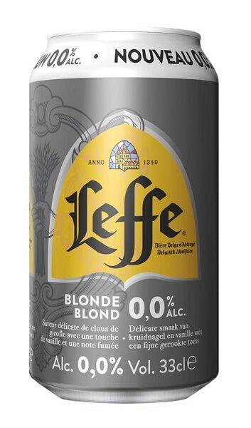 Bezalkoholiskais alus Leffe Blond Beļģu 0% 0.33l