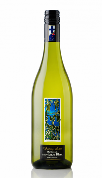 Baltvīns VICARAGE LANE Sauvignon Blanc 12.5% , Marlborough, Jaunzēlande